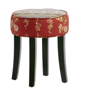 Hocker Patchwork H43cm D36cm
