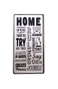 Magnet Home rules 10x5x0.2cm
