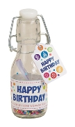 Flasche m.Happy Birthday