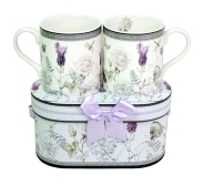Becher Lavendel Set/2 in