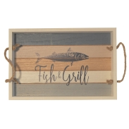 Tablett Fish&Grill 30x20x4cm